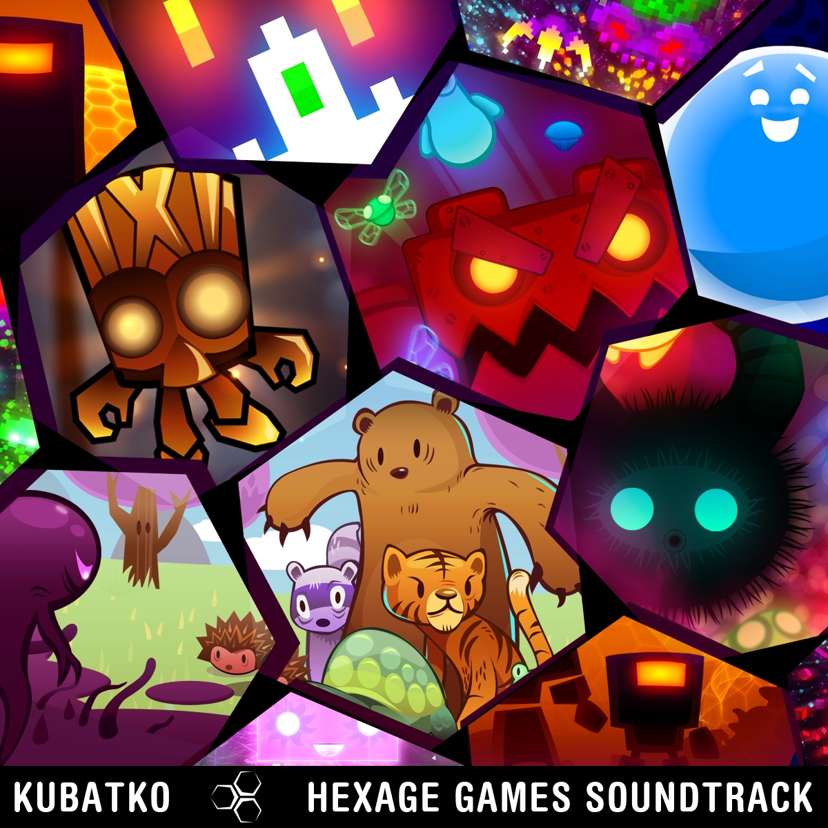 Hexage Games Soundtrack